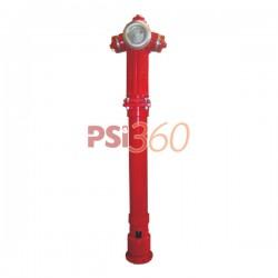 Hidrant suprateran DN 80 - 2B, constructie retezabila