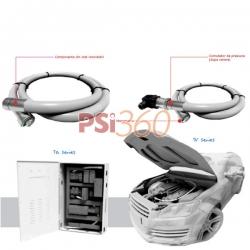 """Sistem automat de stingere cu HFC-227ea """"Fidias"""" 4m, 1kg agent stingere"""
